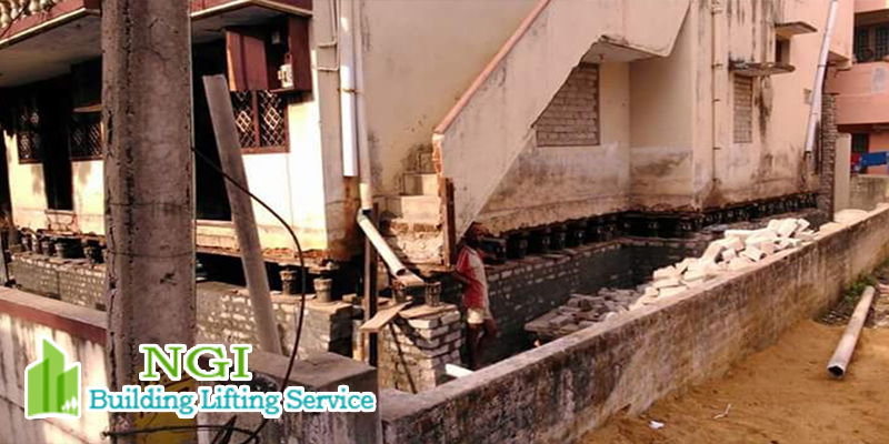 Building lifting service in chennai